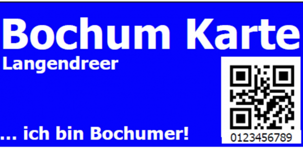 Bochum- und Wattenscheid-Karte