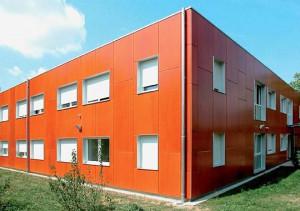 Modulbau, Wohnheim (Foto Algeco GmbH)