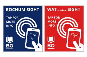 """""""Tap for more Info"""" - Digitale Erklärungen für spannende Orte in der Stadt"""