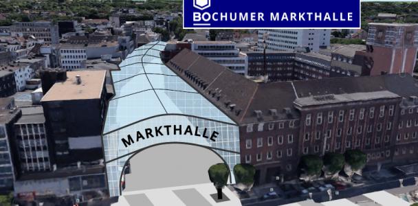 Markthalle an der Viktoriastraße