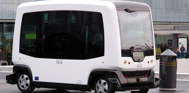 Selbstfahrende Mini-Shuttle für die Innenstadt