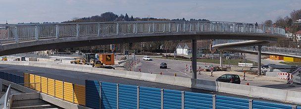 Peinliches Gutachten zur Brücke am Ostpark