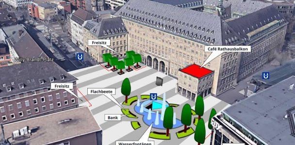 Der neue Rathausplatz