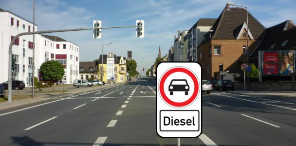 Vorschlag um Dieselfahrverbot auf der Herner Straße zur verhindern