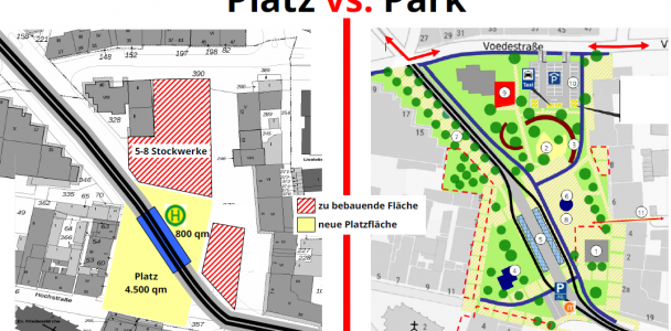 August-Bebel-Platz vs. August-Bebel-Park