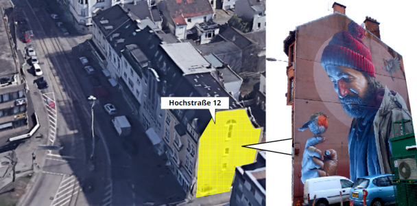 Hochstraße könnte zur StreetArt-Galerie mit hohem Kultfaktor werden