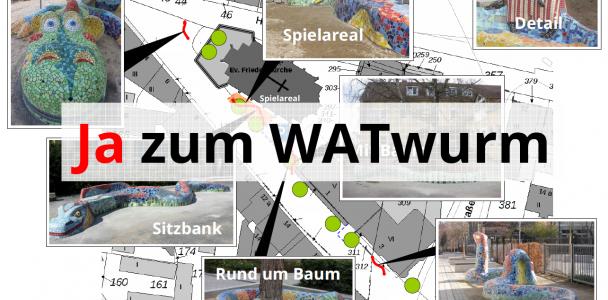 Bürgerbegehren WATwurm startet
