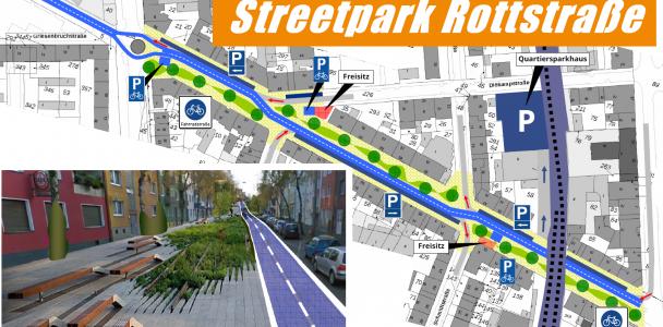 Rottstraße könnte Streetpark werden