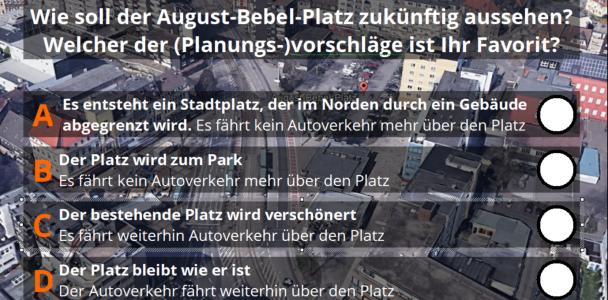 Bürgerentscheid zum August-Bebel-Platz