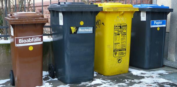 Strategie um Müll zu vermeiden und zu recyceln