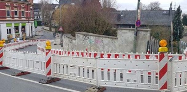 Bei Busumleitung Kassenberger Straße nachbessern