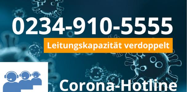 STADTGESTALTER helfen die Telefonkapazitäten der Corona-Hotline zu verdoppeln