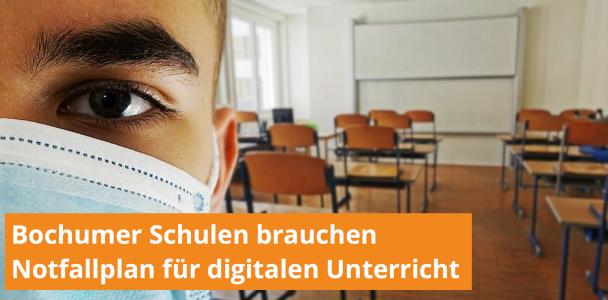 Notfallplan für digitalen Schulunterricht