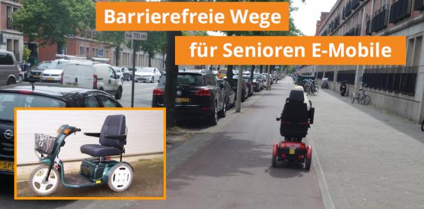 Ein Wegenetz für Elektromobile für ältere und gehbehinderte Menschen