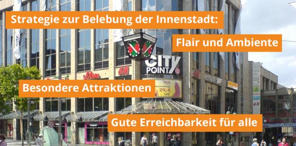 Strategie zur Belebung der Bochumer Innenstadt