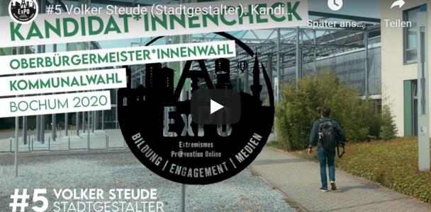 Kandidatencheck - 3 Fragen an unseren OB-Kandidaten Volker Steude