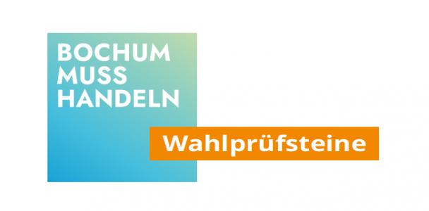 """Wahlprüfsteine """"Bochum muss handeln"""""""