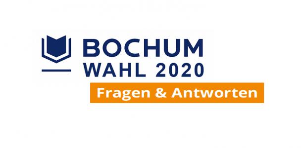 Bochum Wahl 2020 - Unsere Antworten