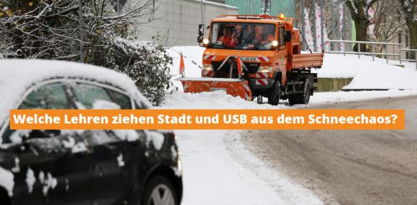 Aufarbeitung des Schneechaos in Bochum
