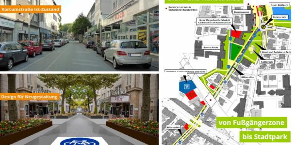 Die Bochumer Kortumstraße soll aufblühen