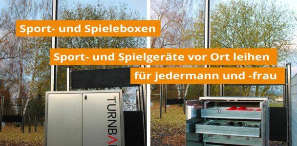 Sport- und Spieleboxen für Bochum