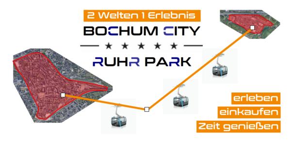 Seilbahnlinie City-Ruhr Park: Die Rettung der Innenstadt ist der Ruhr Park