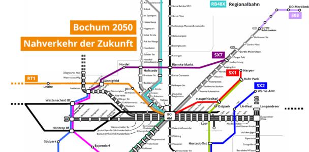 Zehn neue Linien für das Bochumer Nahverkehrsnetz